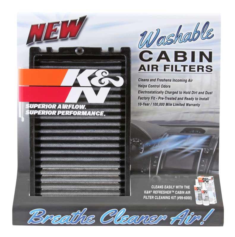 K&N cabin air filters