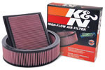 K&N lifetime high flow air filters
