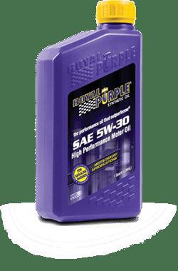 Royal Purple API licensed oil