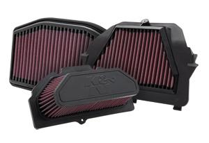 K&N sport bike air filters
