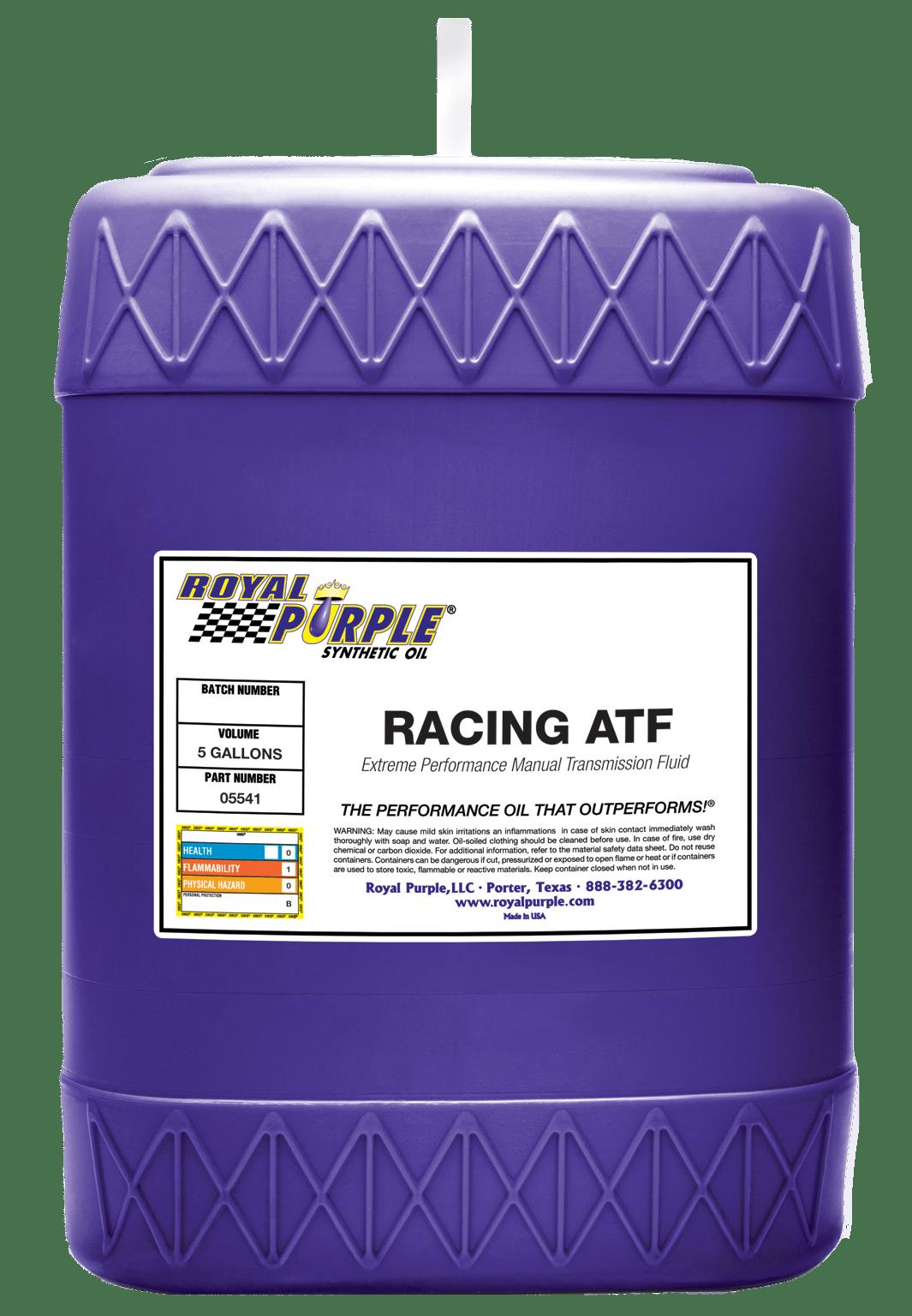 Royal Purple racing atf