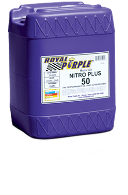 Royal Purple nitro racing oil
