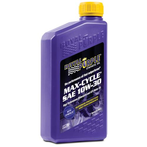 Royal Purple max cycle oil